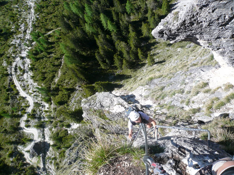 Klettersteig Wolkenstein : Klettersteig stevia klettersteige südtirol