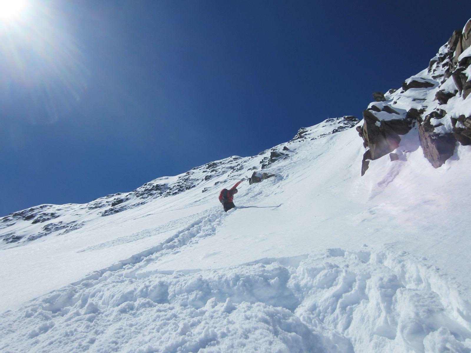 Stapferei zum Gipfel