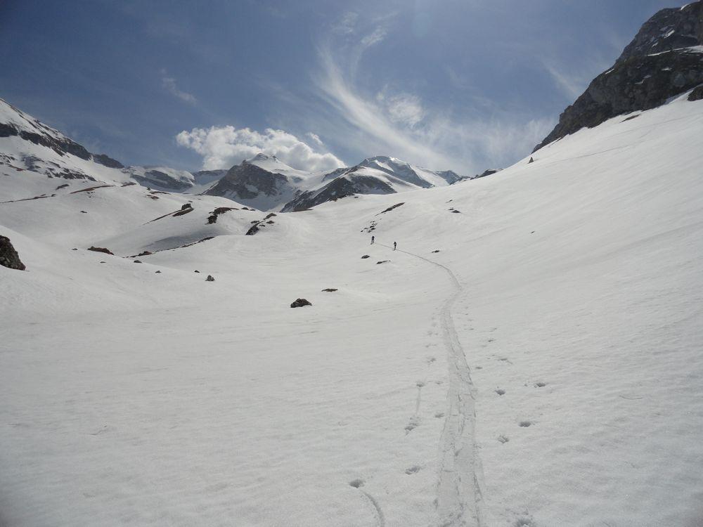 Richtung Passo della Portella