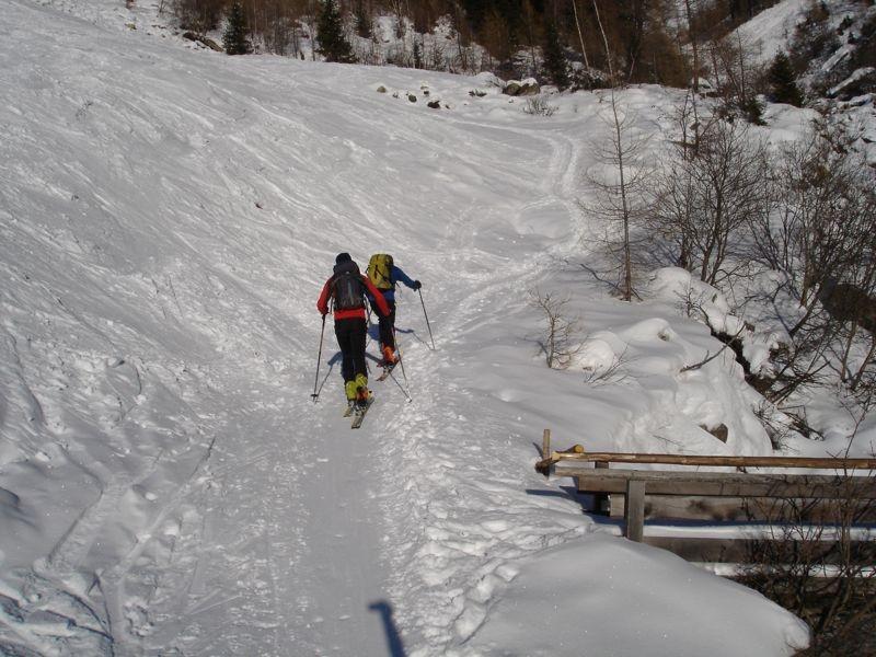 Autobahn zur 5. Hornspitze