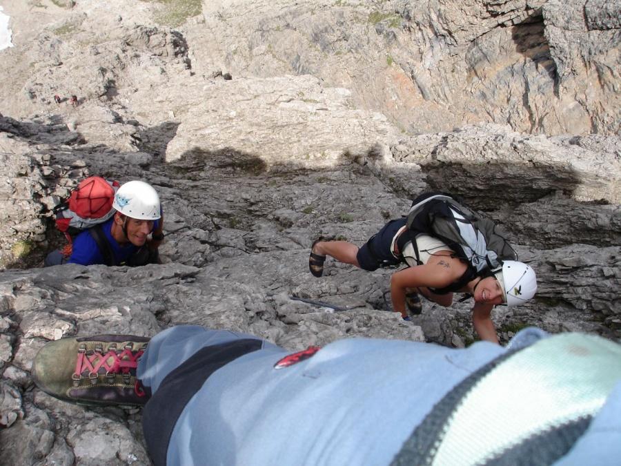 Klettersteig Plattkofel : Klettersteig laserzwand m klettersteige südtirol